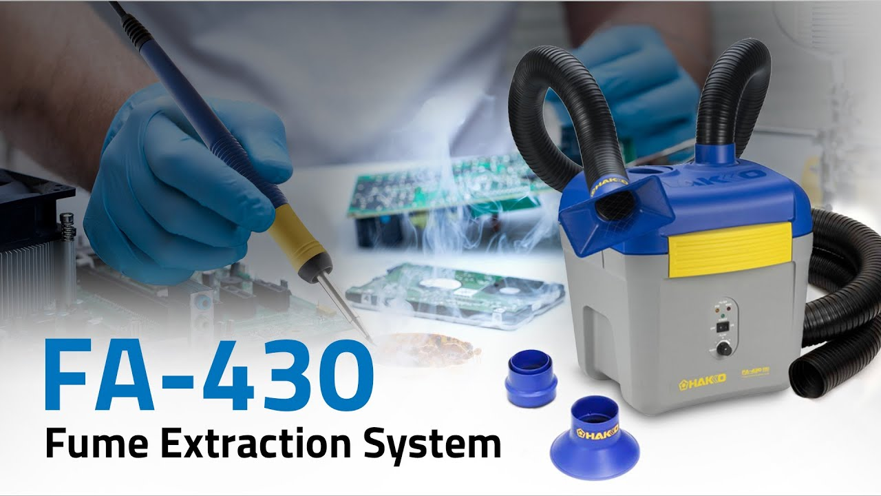 Hakko Fa 430 Fume Extraction System By American Hakko