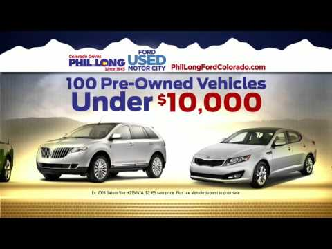 Phil long ford motor city inventory reduction youtube for Phil long motor city