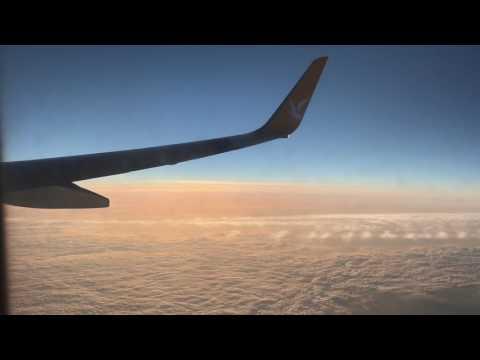 Полет Москва- Стамбул