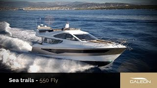 Galeon 550 Fly trials