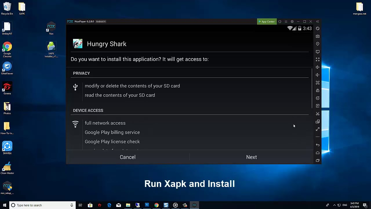How To Install XAPK on PC (Windows 10/8/7) With Nox App Player
