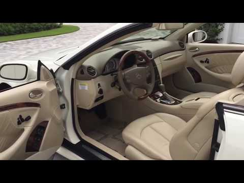 2006 Mercedes Benz CLK500 Cabrio Review and Test Drive by Bill Auto Europa Naples