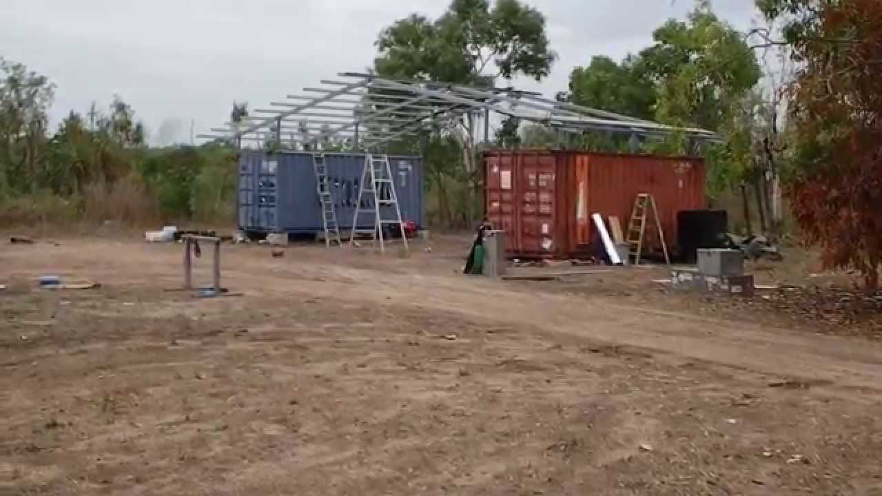 Shipping Container Roof 7 Youtube