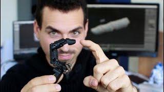 """Roboterfinger fürs Smartphone: """"Jeder sagt, der sei gruselig"""""""