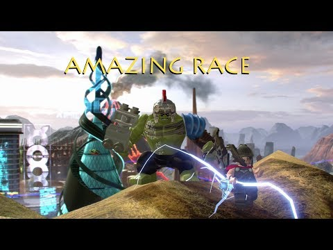 LEGO Marvel Superheroes 2: Amazing Race!! S10 E1