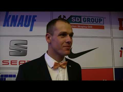 Petr Frydrych bronzový atlet roku 2017