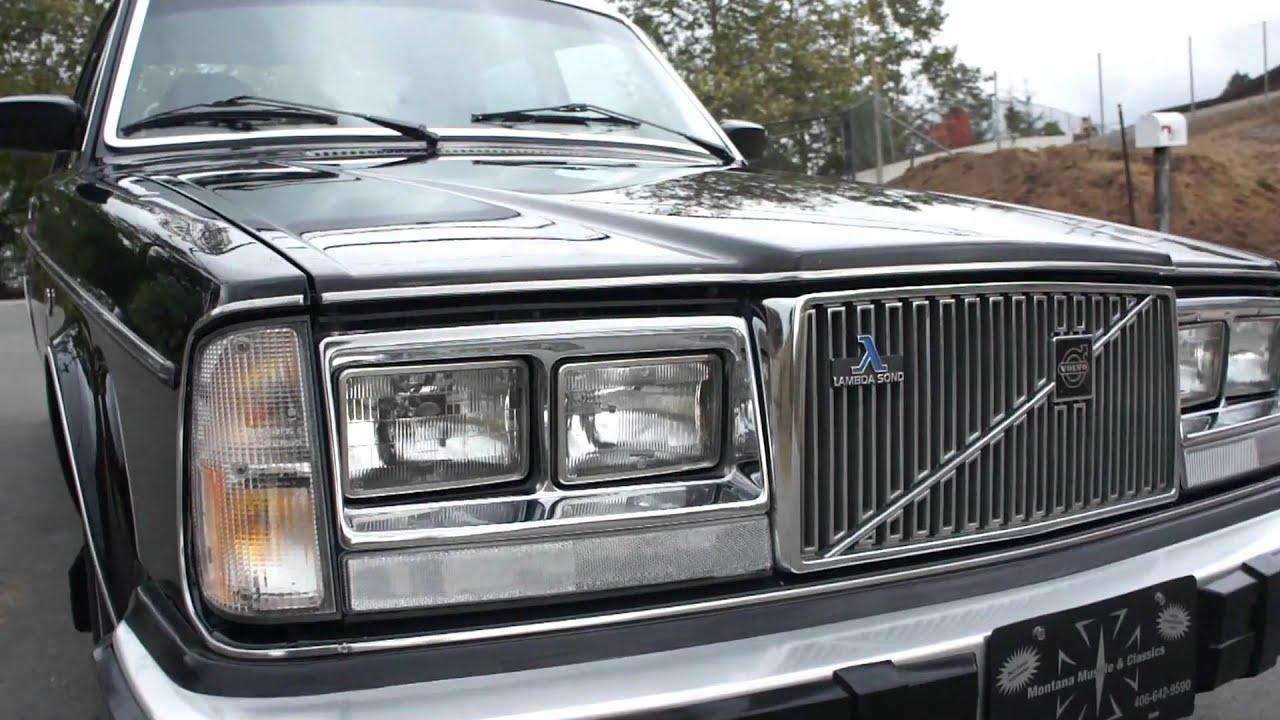 1979 Volvo 264 GLE v6 Supercar 1 Owner For Sale - YouTube