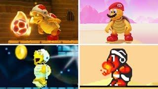 Evolution of - Fire Bro in Super Mario Games
