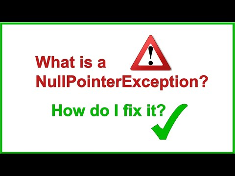 What Is A NullPointerException, And How Do I Fix It?