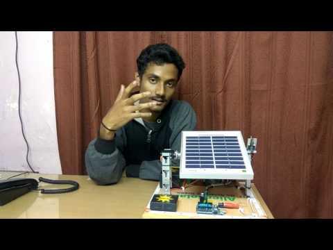 Prototype of single axis solar tracker using Arduino