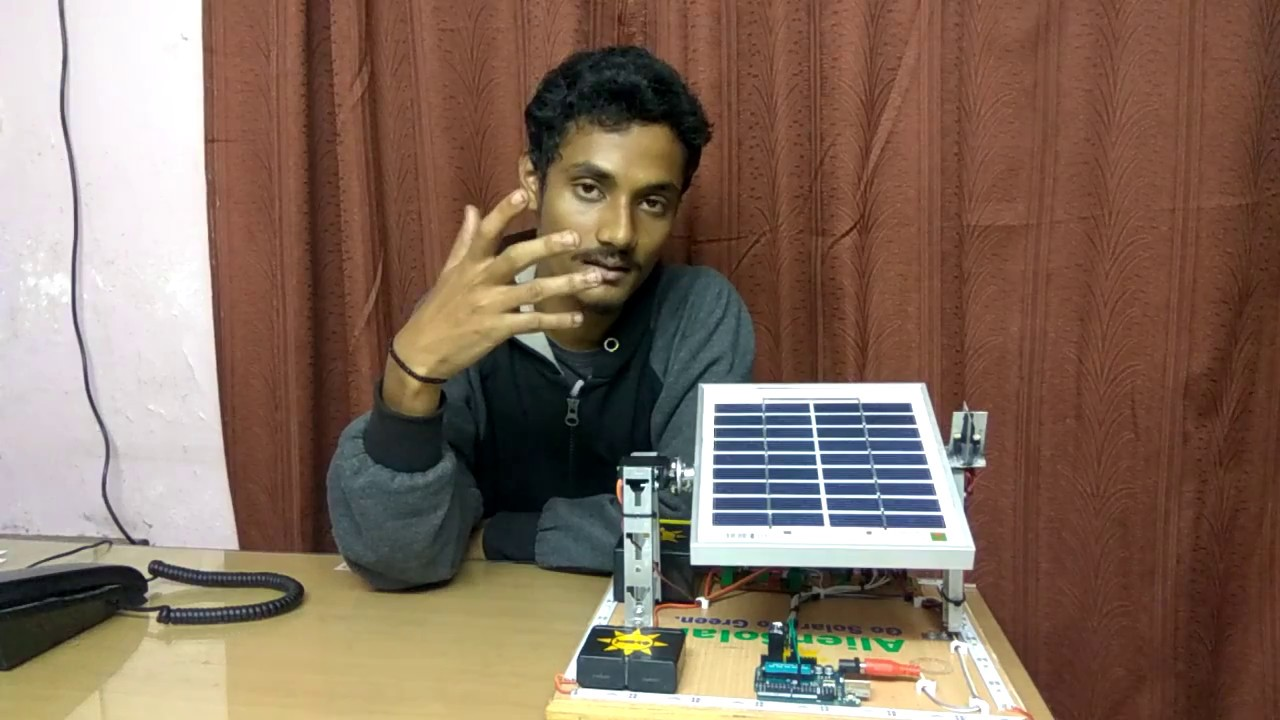 Prototype of single axis solar tracker using Arduino