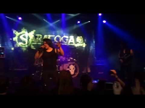 Saratoga - Sigues estando (en mi vida) (sala music hall, BCN)