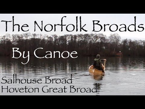 The Norfolk Broads By Canadian Canoe. Pork Belly On The Firebox Stove.