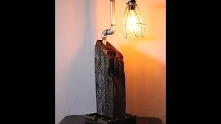 Build An Edison Lamp From Reclaimed Wood