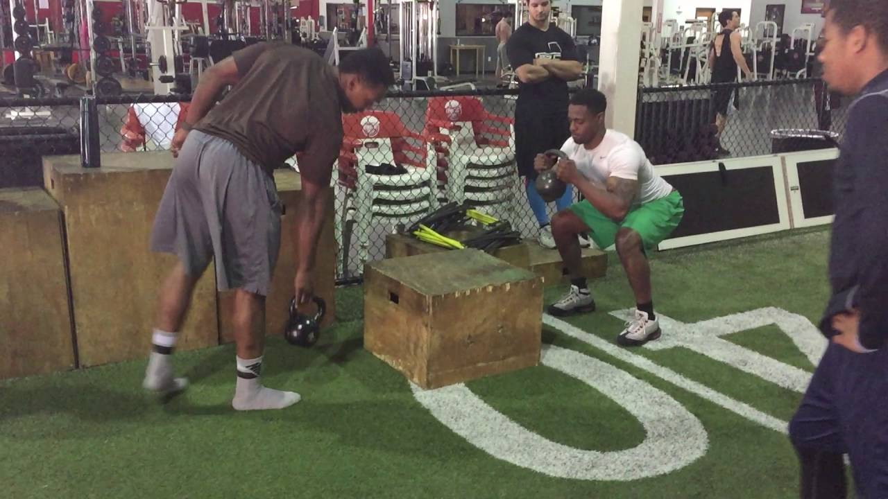 Goblet Squat Jump Nfl And Collegiate Football Training