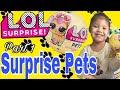 Lol Surprise Pets Blind Bag Balls-Litter Box Sand Poop, Pee , Cry , Color Change?