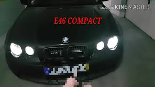 Installation welcome lights in BMW E46 COMPACT