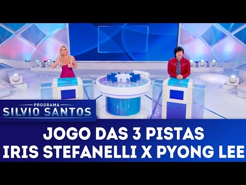 Jogo das 3 Pistas - Iris Stefanelli e Pyong Lee | Programa Silvio Santos (13/05/18)