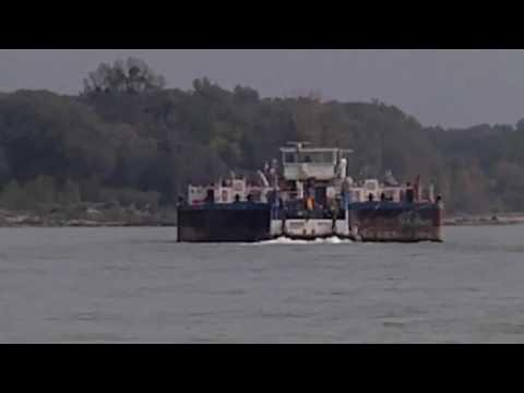 Tour towboat IRMGARD , Danube river 1903km.