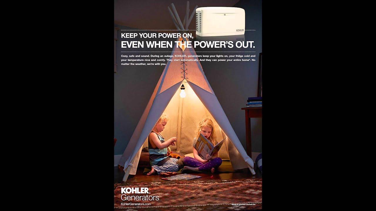 Ritzman Electric - Kohler Generator Dealer - YouTube