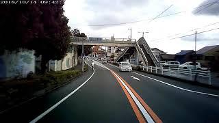 自転車で圧倒的信号無視!!!! 愛知県豊橋市二川