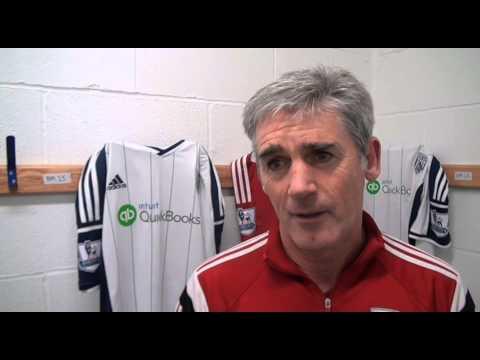 Alan Irvine previews West Bromwich Albion's Barclays Premier League trip to QPR
