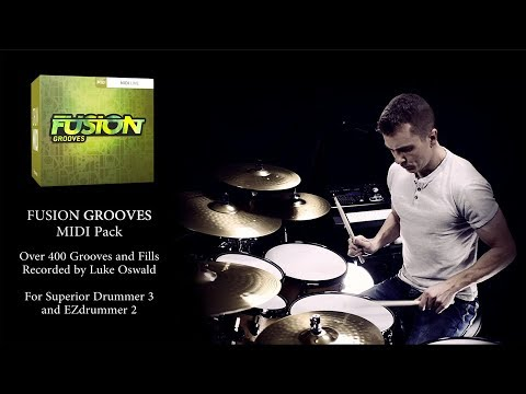 FUSION GROOVES - Drum MIDI Pack By Luke Oswald