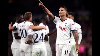 MATCH REACTION: Tottenham 5-0 Red Star Belgrade: Braces for Kane and Son and a Goal for Lamela