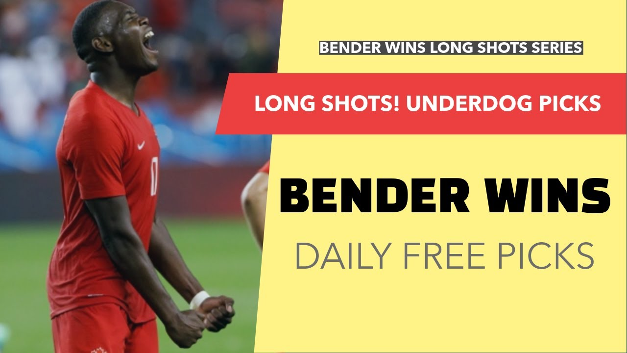 Bender Wins - Long Shots!  Underdog Free Picks 1/21/20