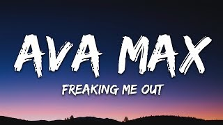 Gambar cover Ava Max - Freaking Me Out (Lyrics / Lyric Video)