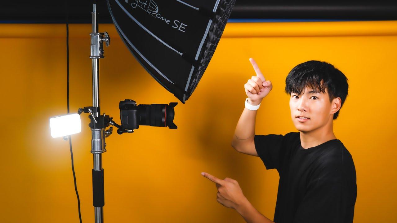 【便利すぎる】これ1つでどこでもYouTube撮影できる、移動式スタジオの作り方!