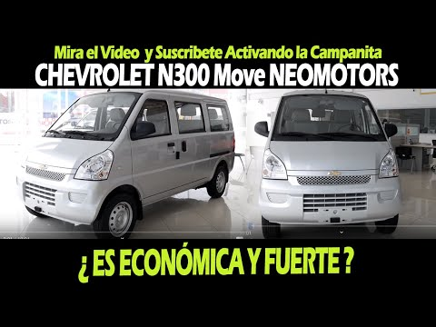 Chevrolet N300 Move Neomotors En Trujillo Youtube