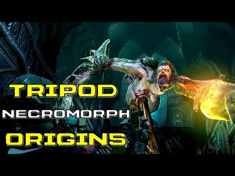 The Tripod Necromorph Explained | Dead Space 2 | Elevator, Sounds, Anatomy, Origins, And Lore