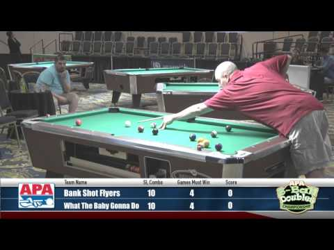2016 8-Ball Doubles Championship Semi Finals - 2016 APA Poolplayer Championships