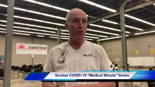 Sunrise Medical Minute with Dr. Mark Wallace - Vaccine Trials