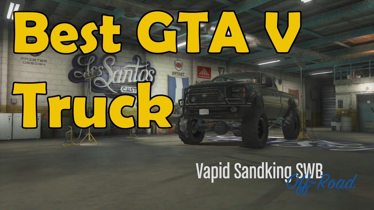 GTA V - Sandking Build Commentary (Best GTA 5 Off Road ...