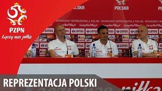 Konferencja reprezentacji Polski (28.05.2016)