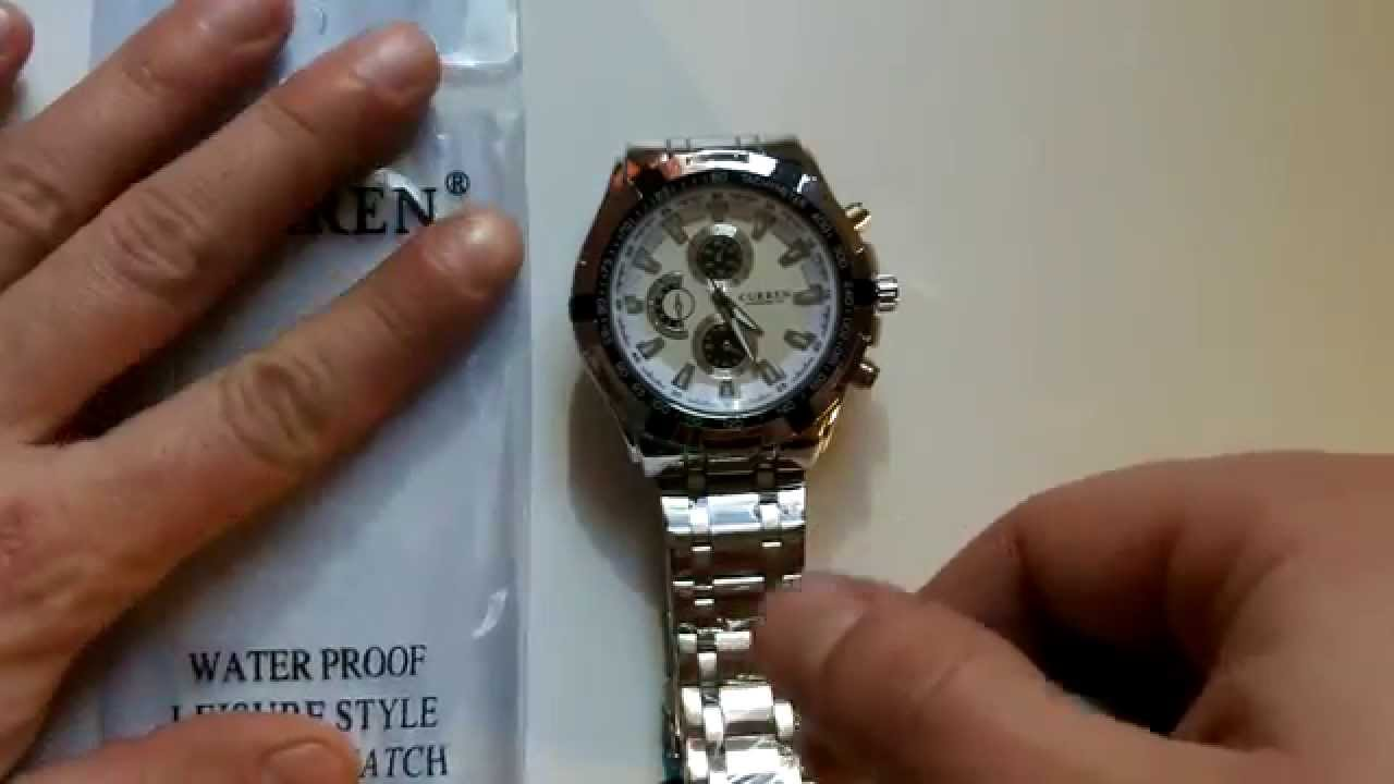 Curren 8023 Watch - YouTube c9306de1c76