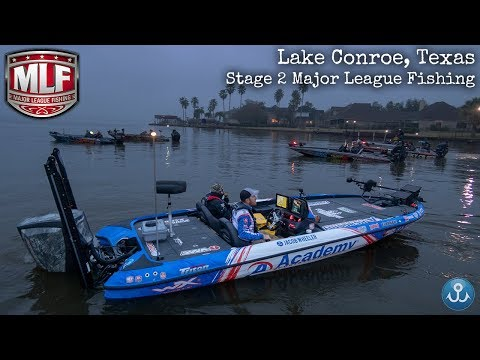 Stage Two Major League Fishing Pro Tour Lake Conroe Texas