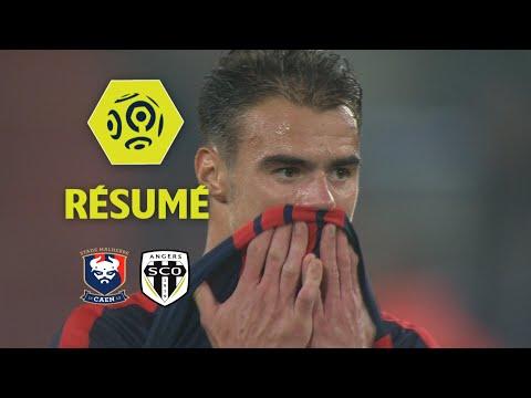 SM Caen - Angers SCO (0-2)  - Résumé - (SMC - SCO) / 2017-18