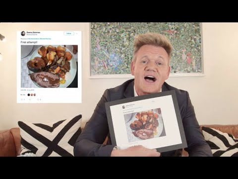 Gordon Ramsay vs. Sunday Roast Roasts vs. Late Show with Stephen Colbert