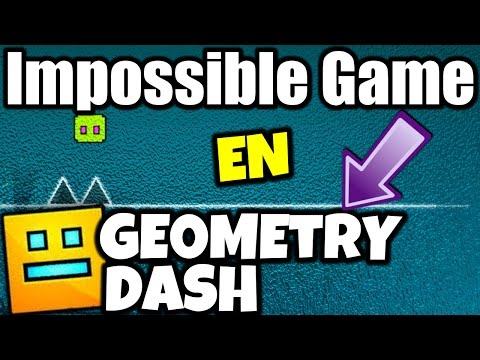 ¡THE IMPOSSIBLE GAME EN GEOMETRY DASH! | MiKha