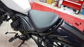 Download lagu Install Honda Rebel CMX 300 - 500 Real Cowl Tail tidy with Light