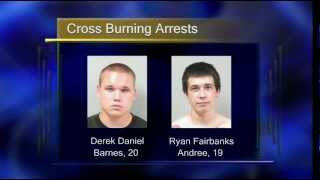 Two Arrested in Bemidji Cross-Burning Incident - Lakeland News at Ten - June 6, 2012