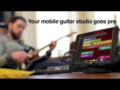 IRig HD And AmpliTube Trailer - Your Mobile Guitar Studio Goes Pro On IPad IPhone IPod Touch And Mac