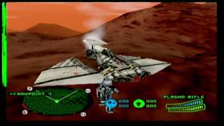 Battlezone: Rise of the Black Dogs (N64): (Commander mode) Black Dog Mission 3: Exploratory