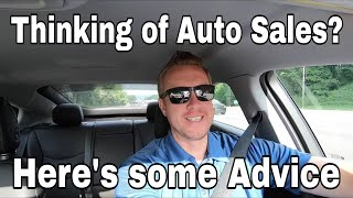 Thinking of car sales? Here is some advice