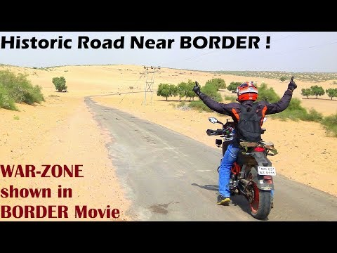 Part 2 | Mumbai to Jaisalmer || Desert | India-Pak WAR-ZONE | LONGEWALA Battlefield | TANOT Mata