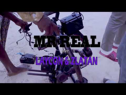 Mr Real ft Laycon & Zlatan – Baba Fela (Remix) Behind the scenes video
