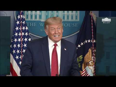 08/10/20: President Trump Holds a News Conference